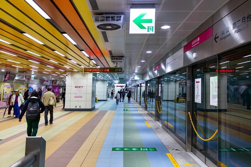 ga tàu điện ngầm ở Đài Loan